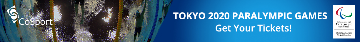 Click here to get your tickets for the Tokyo 2020 Paralympic Games