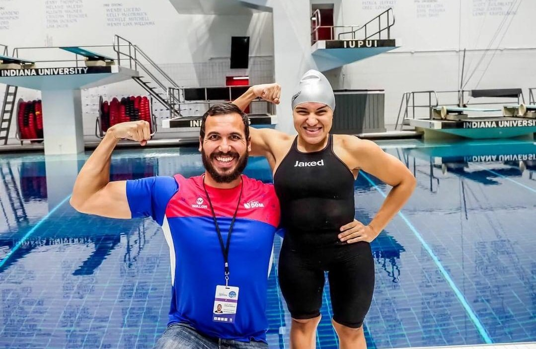 Alejandra Aybar's journey to make her coach and her country proud