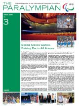 The Paralympian 2008 Issue 3 Cover