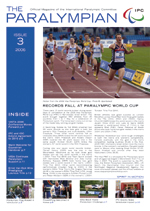 The Paralympian 2006 Issue 3 Cover