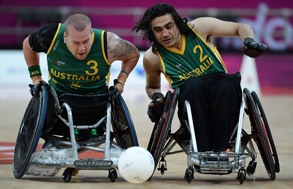 Draw Made For 2014 Wheelchair Rugby Worlds International