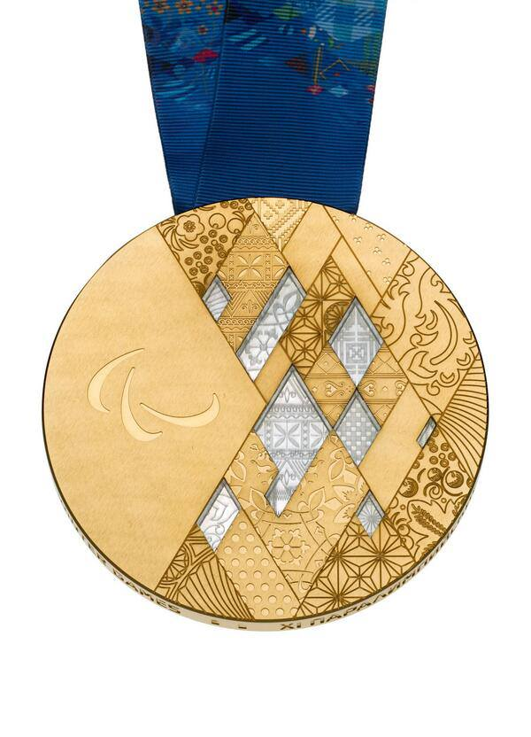Sochi 2014 medals The Sochi 2014 Paralympic Winter Games medals