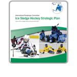 IPC Ice Sledge Hockey Strategic Plan Cover Icon