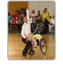 Wheelchair dance sport photo gallery icon