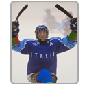 Highlights block Italy ice sledge hockey Florian Planker