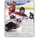 Highlights block Canada ice sledge hockey Greg Westlake
