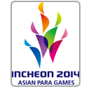 Logo Incheon Asian Para Games 2014
