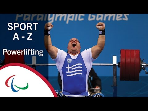 Paralympic Sports A-Z: Powerlifting