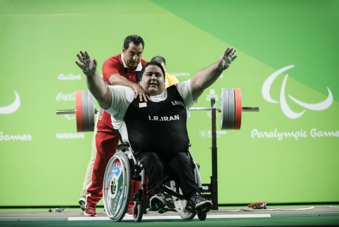 Iranian Siamand Rahman made history at the Rio 2016 Paralympic Games by becoming the first athlete to lift over 300 kg.