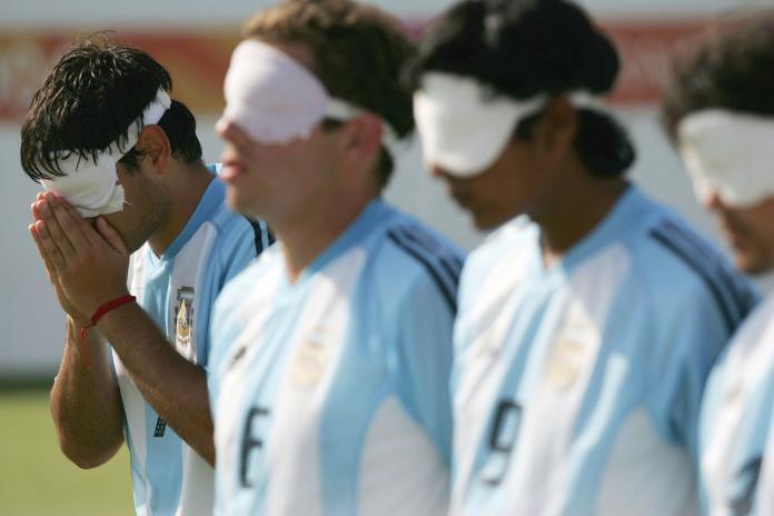 Argentina aguarda ansiosamente o pênalti