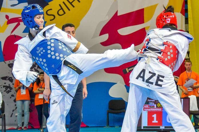Lisa Gissing - Taekwondo