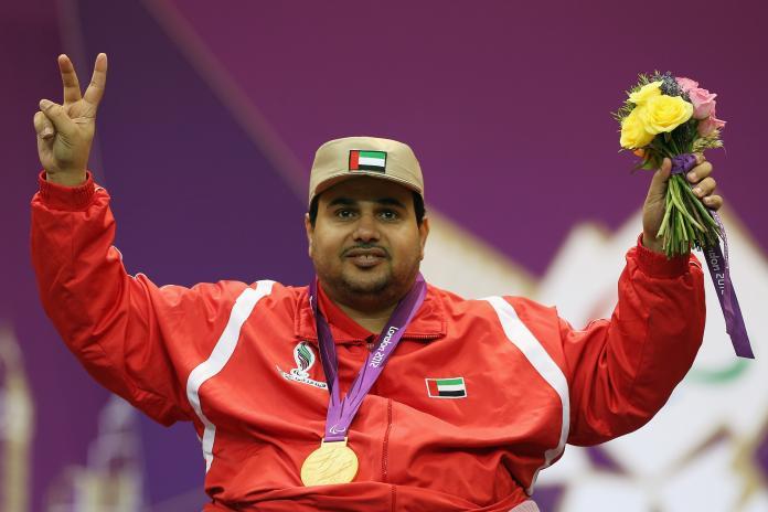 Abdulla Sultan Alaryani of United Arab Emirates