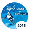 2018 World Para Alpine Skiing World Cup logo