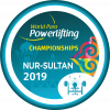 the official logo of the 2019 World Para Powerlifting Championships