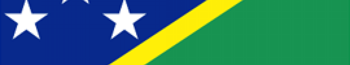 Salomon Islands Flag