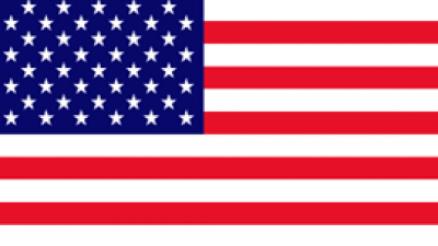 USA flag square