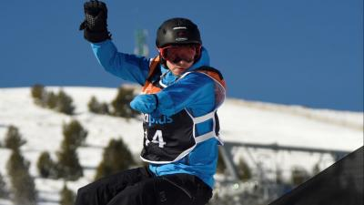 IPC Snowboard sports icon