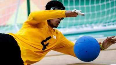 Leomon Moreno is leading defending champions Brazil into the 2018 Goalball Worlds