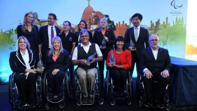 The Inductees to the 2016 Visa Paralympic Hall of Fame