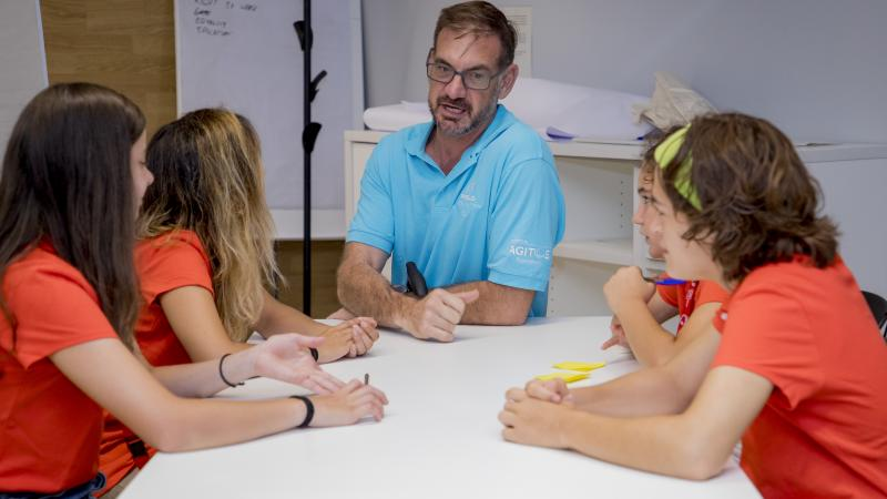 Young athletes take part in Proud Paralympian workshop in Sant Cugat