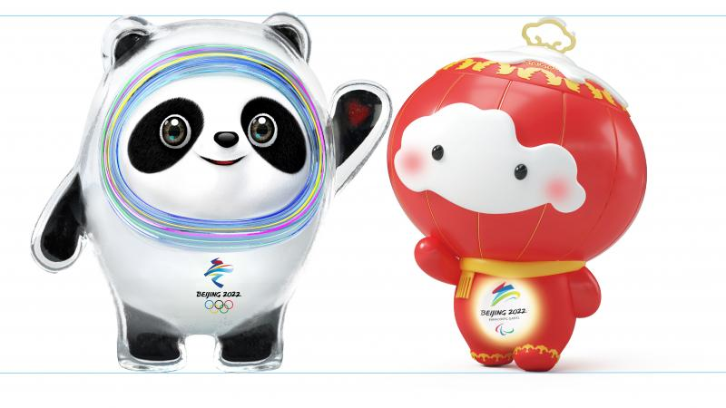 Mascots of Beijing 2022 Olympics and Winter Games