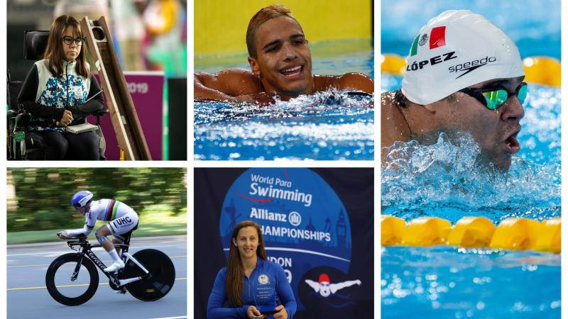 Five nominees for Americas Athlete of the Month for September