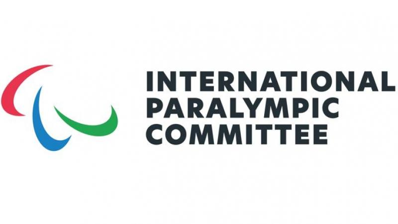 The three Agitos in the new International Paralympic Committee logo