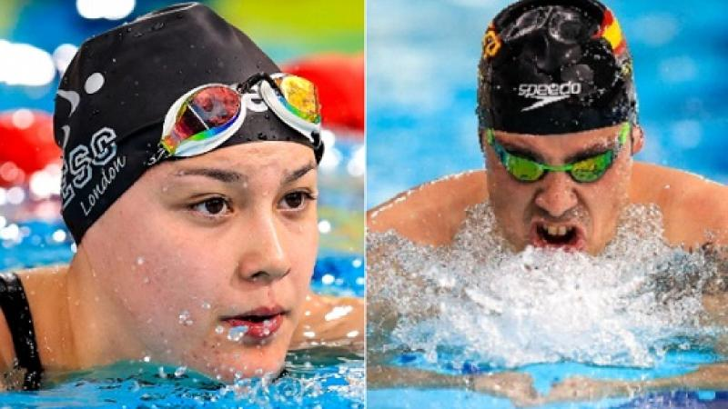 Para Swimming World Series 2019 winners - Alice Tai - Antoni Ponce Bertran