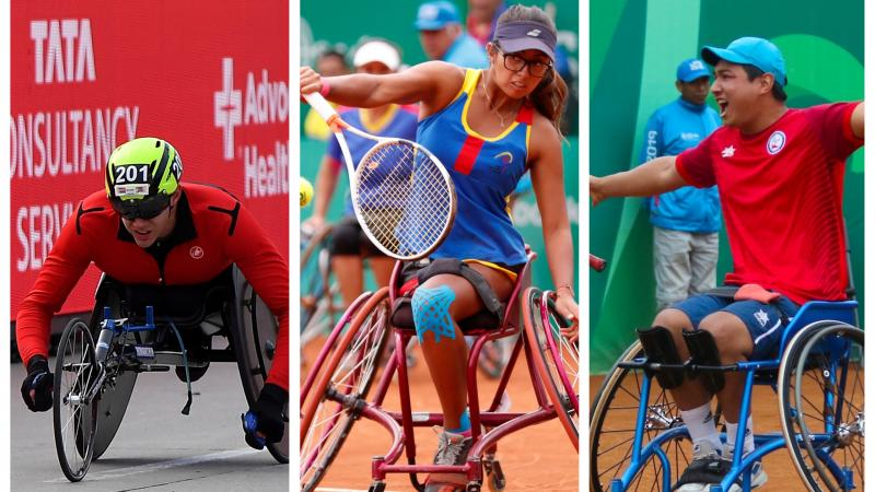 Three nominees for Americas Athlete of the Month for October 2019