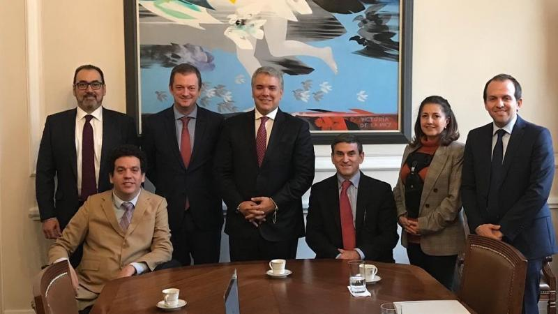 IPC President Andrew Parsons meets Colombian President Ivan Duque