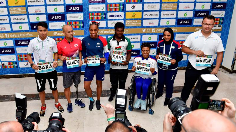 Dubai 2019 top athletes press conference