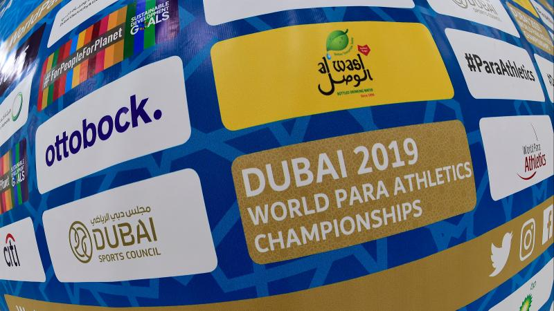 Dubai 2019 World Para Athletics Championships' logo