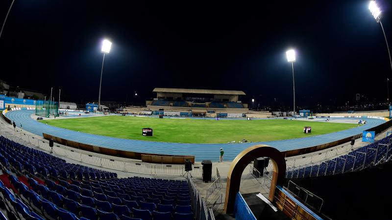Athletics track at the Dubai Club for People of Determination
