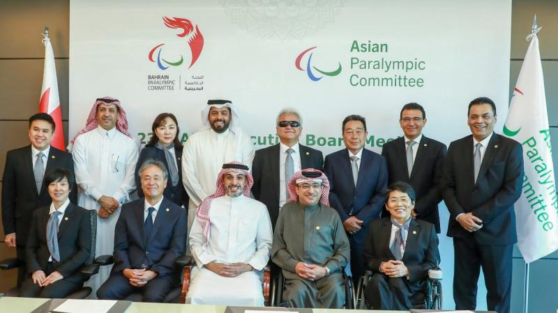 Asian Paralympic Committee board members