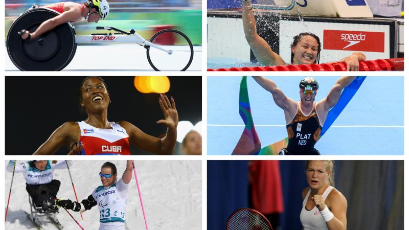 Photos of the six Para athletes nominated for the Sportsperson of the Year with a Disability Award