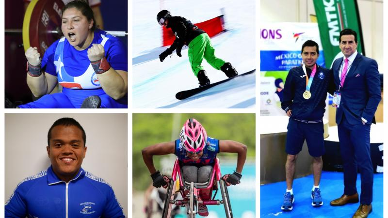 Five athletes nominated for Americas Athlete of the Month