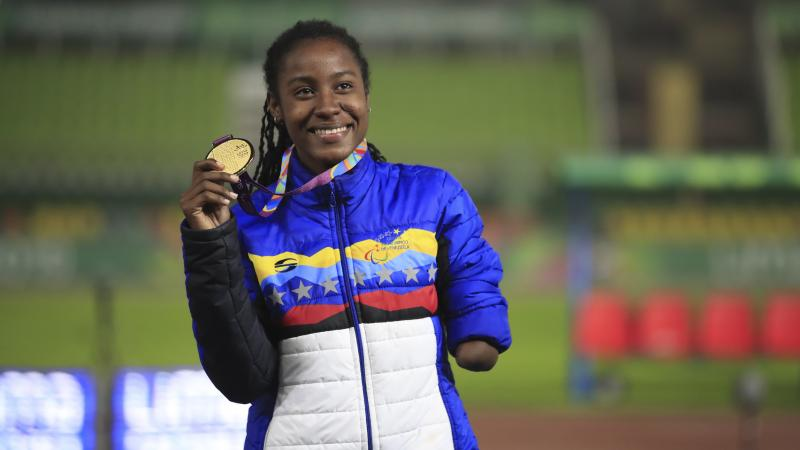 Venezuela's Lisbeli Vera finds inner strength through Para sports   International Paralympic Committee