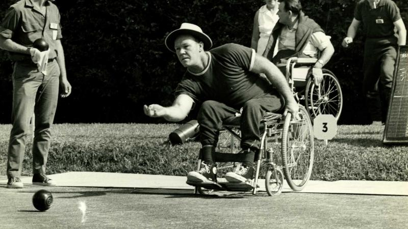 Athletes in the Paralympic Games of Tel Aviv 1968