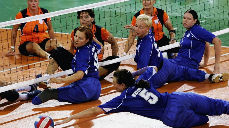 Team Finland Women Sitting Volleyball