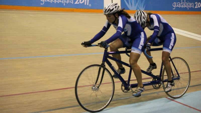 Cycling Track Team Argentina at the Parapans