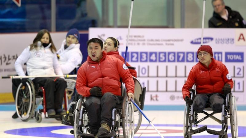 Wheelchair Curling - News | International Paralympic Committee