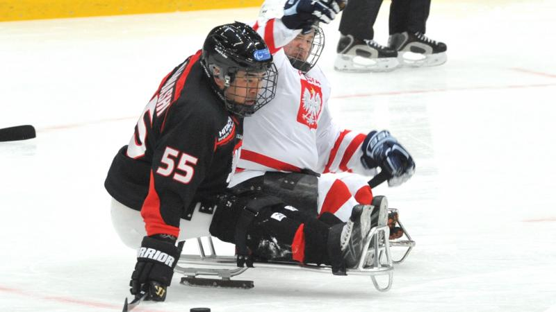 Japan ice sledge hockey