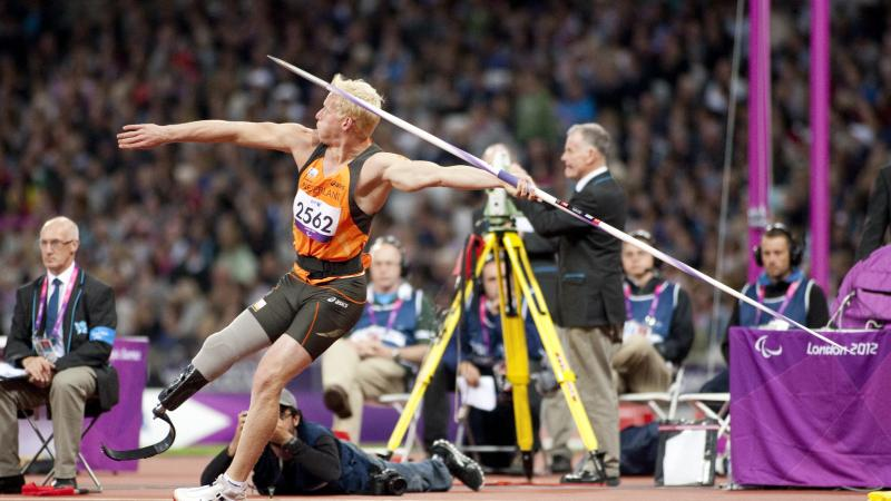 Dutch para-athletics