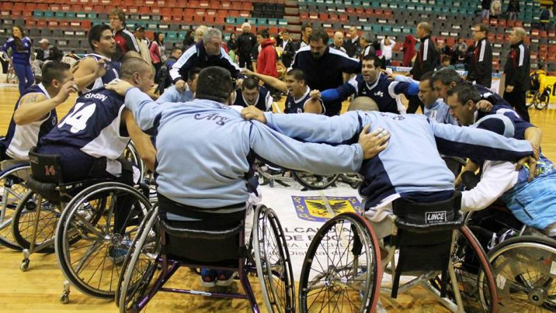 Argentina wheelchair basketball
