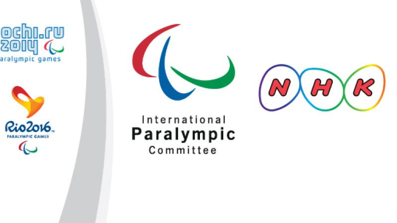 NHK becomes a rights holder of the 2014 and 2016 Paralympic Games
