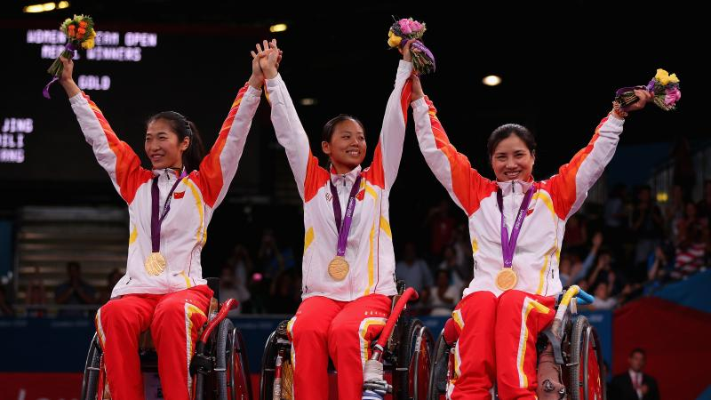 Jing Rong China Wheelchair Fencing