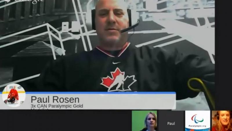 Screenshot Google Hangout
