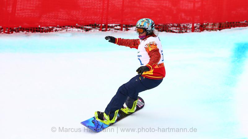 Astrid Fina Paredes - Para-snowboard - Sochi 2014 Winter Paralympic Games