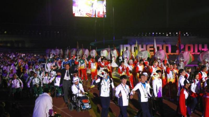 The Incheon 2014 Asian Para Games closed on 24 October with a spectacular Closing Ceremony.