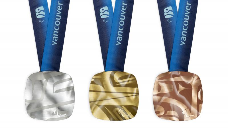 Vancouver 2010 Paralympic Winter medals